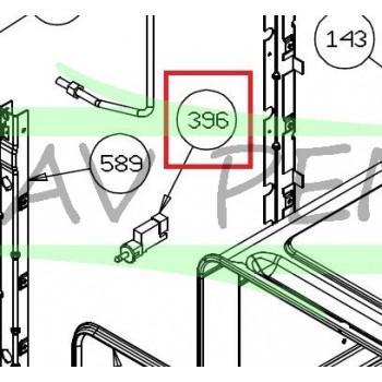 Micro-interrupteur Z09Z855 fours GLEM AFGC310BK, AFGC310IX, AFSCW21BKN