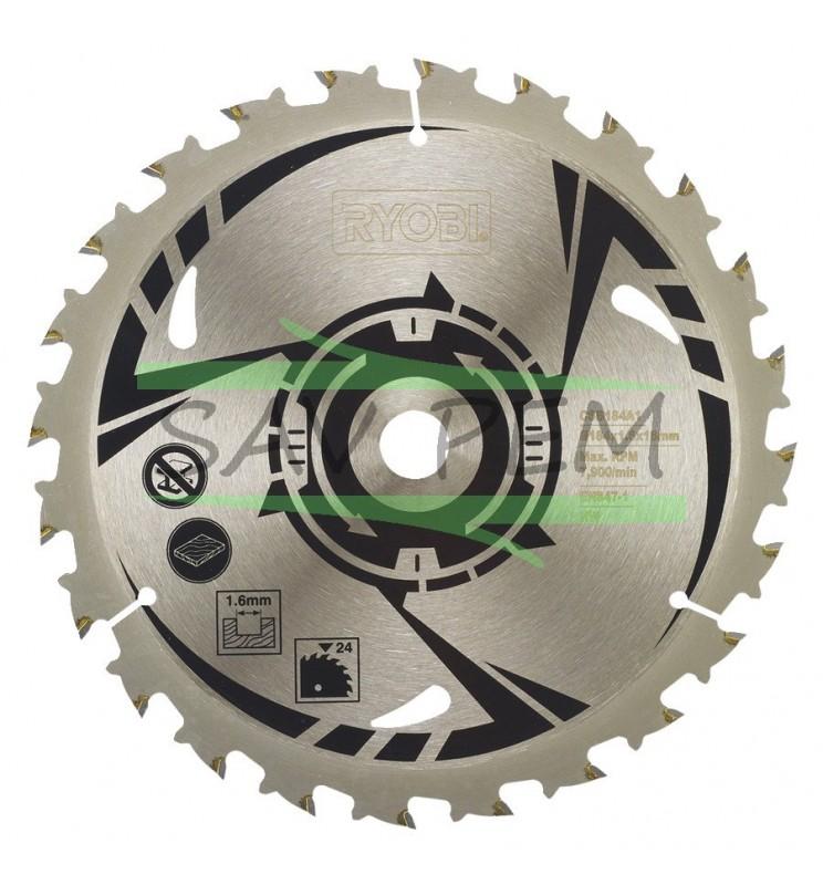 Lame scies circulaires RYOBI 184 mm