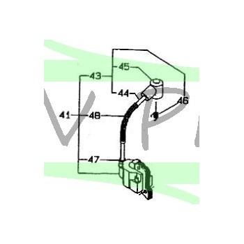 Bobine d'allumage débroussailleuse RYOBI PBC4243M