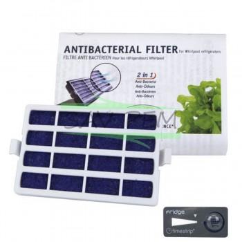 Filtre anti-bactérien WPRO ANT001 pour réfrigérateur WHIRLPOOL