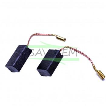 Balais X 2 SKIL d'origines 2610399703 pour les meuleuses 9340, 9345, 9445