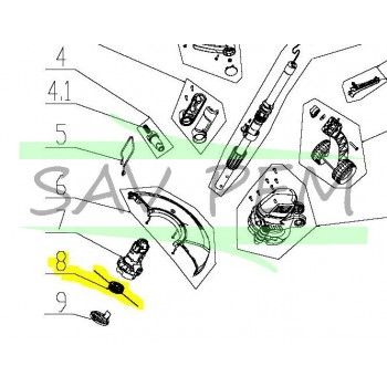 Bobine coupe bordure MAC ALLISTER MGTP600