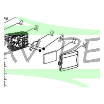 Boîtier du filtre à air tondeuse GREATLAND moteur CLTZ1P56F