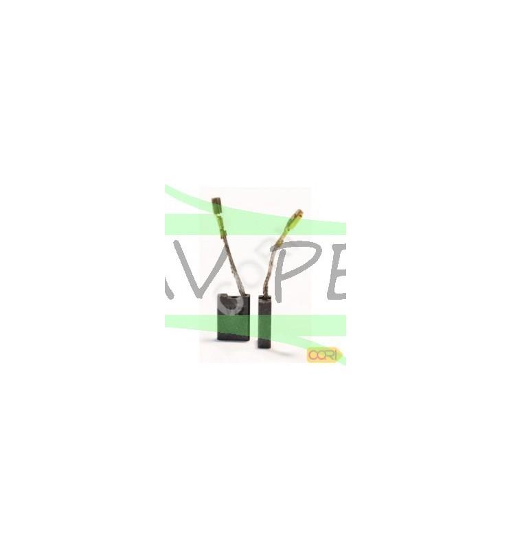Charbons meuleuse BOSCH GWS19-180 / GWS19-230