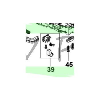 Paire charbons meuleuse STANLEY FME822