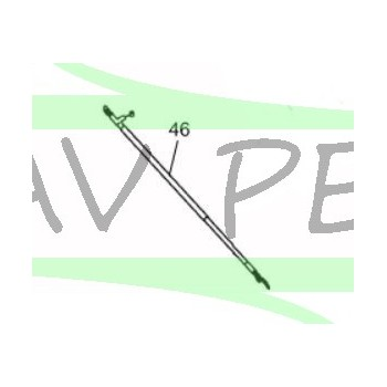 Câble d'accélération taille-haies RYOBI RHT2660DA (lame jaune)