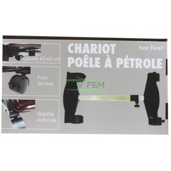 Chariot transport pour tous poêles à pétrole UNIVERSEL SH600