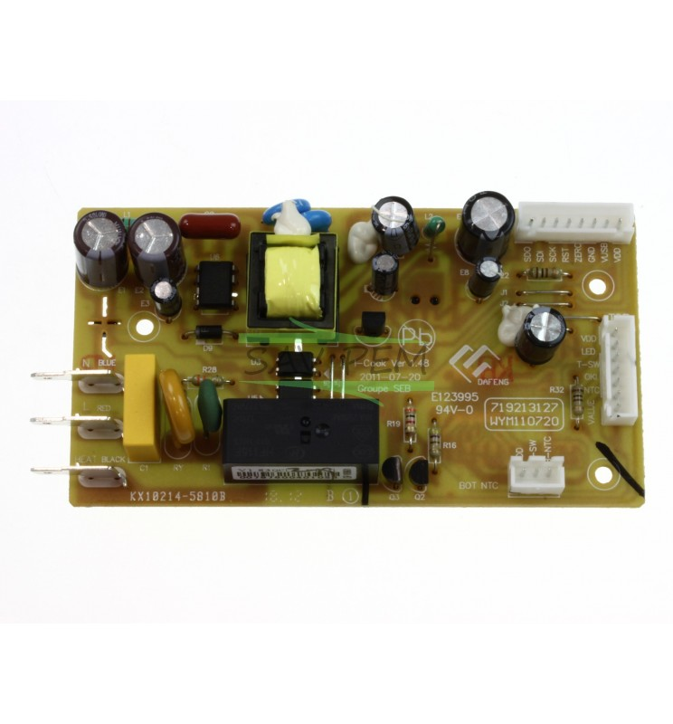 Carte puissance SS-993450 COOKEO MOULINEX CE70101087, CE70110087, CE70110089
