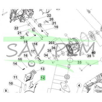 Antiparasite perforateur SDS + RYOBI RSDS800