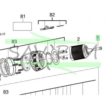 Vis de mandrin perceuses AEG Powertools BS18CBLLI / BSB18G3LI