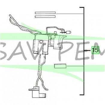 Interrupteur pour perceuses / visseuses sans fil AEG BS18G3LI