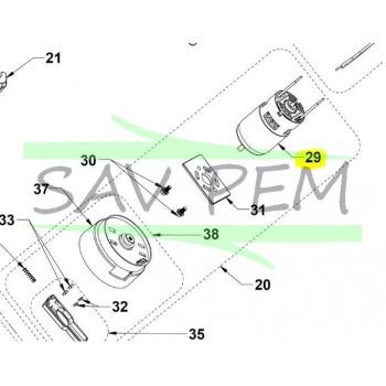 Moteur coupe bordures / débroussailleuses RYOBI RLT1825LI / RLT1825M13S