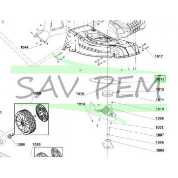 Courroie tondeuses à gazon RYOBI modèles RLM46160S