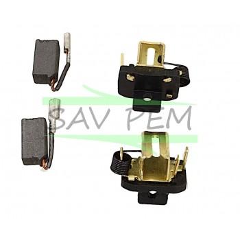 Balais 1004702-31 meuleuses BLACK & DECKER, STANLEY FME821, FME822, KG752