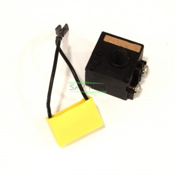Interrupteur avec condensateur anti-parasite meuleuse AEG WS10-125SK