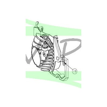 Lanceur pour tronçonneuses RYOBI RCS3535CB / RCS4040CB