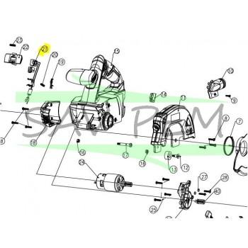Interrupteur scie circulaire RYOBI modèle RWSL1801M