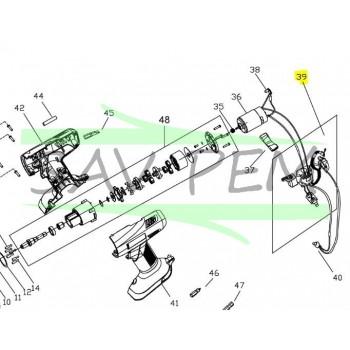 Interrupteur perceuse - visseuse RYOBI CHD1201 / CHD1801M