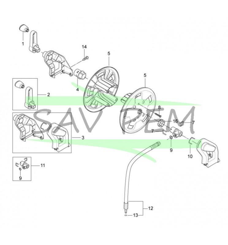 Joints toriques flexible nettoyeur haute pression NILFISK P150.2