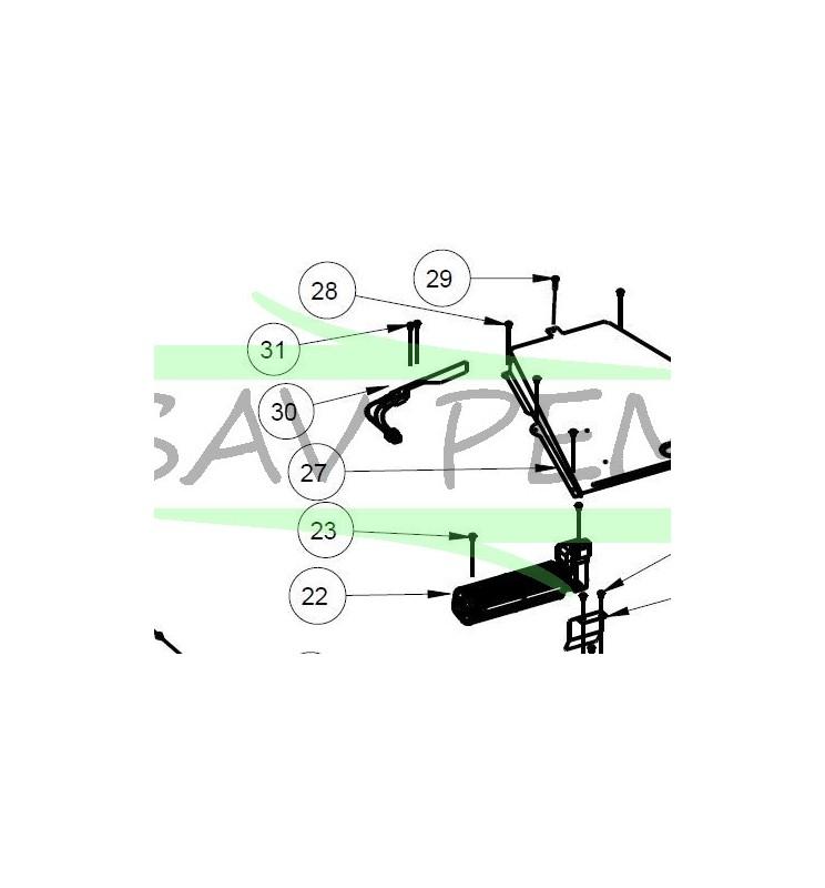 Verrouillage de porte four AIRLUX AFP110IX
