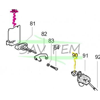 Joint isolation 538241428 débroussailleuse MC CULLOCH CABRIO 321, CABRIO