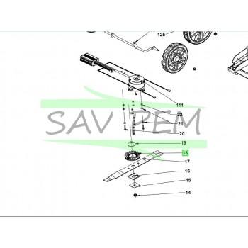Turbine pour tondeuse à gazon RYOBI RY36LMX51A