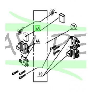 Charbons et support perforateurs RYOBI RPD1010 - RPD1200
