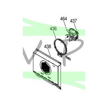 Moteur chaleur tournante cuisinière GLEM GXD96CVIX