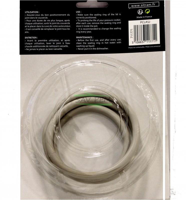 Joint pour autocuiseur SITRAM modèle FIRSTCOOK, Référence: 225116