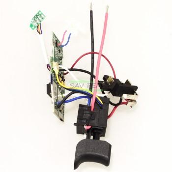 Interrupteur complet perceuse AEG BSB12C2LI-152B