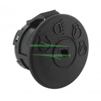 Contacteur plastique à clipser pour autoportée, 4 Positions, 7 Bornes
