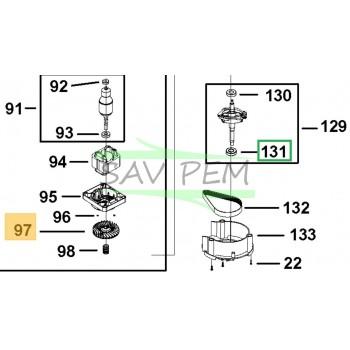 PALIER  1004729-61 pour la tondeuse BLACK & DECKER LM2000-QS