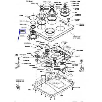 Support pour plaque de cuisson AIRLUX TA19 - TA20 -TA21 - TA22