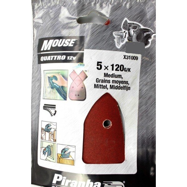 abrasif pour ponceuse black decker mouse et quattro. Black Bedroom Furniture Sets. Home Design Ideas