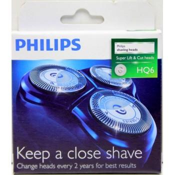 Tetes HQ6 pour les rasoirs PowerTouch électrique PHILIPS