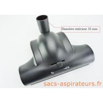 Brosse Turbo pour les aspirateurs VAPORETTO AS550 et AS580, Cinderella et Lecologico.