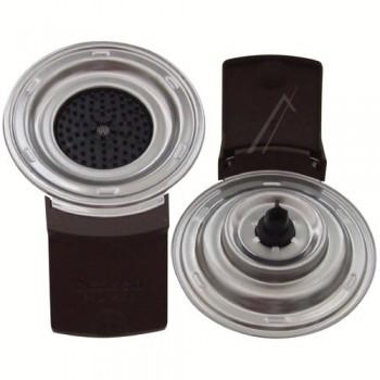 Support espresso 1 tasse pour SENSEO SERIE ALUMINIUM HD7840