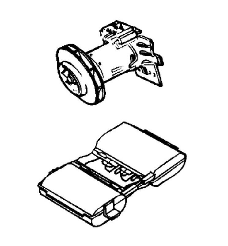 Ensemble batterie pour aspirateur Black et Decker WV3615